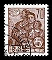 Stamps GDR, Fuenfjahrplan, 70 Pfennig, Buchdruck 1955.jpg