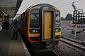 Standing time, the conductor of a Liverpool Lime St to Norwich service awaits departure. - panoramio.jpg