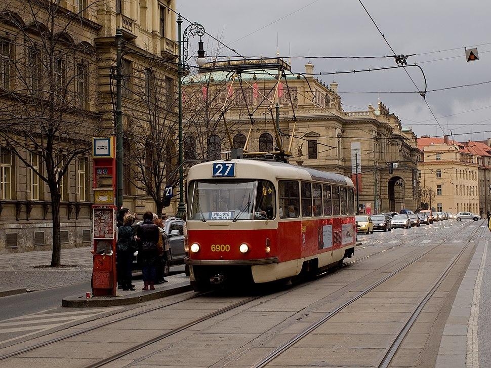 Staroměstská, Tatra T3 dc