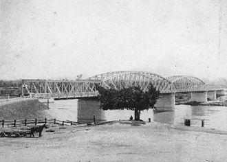 Alexandra Railway Bridge - Alexandra Railway Bridge, Rockhampton, 1899