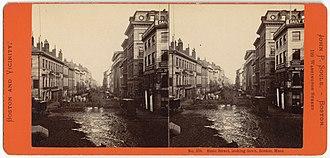 Merchants Exchange (Boston, Massachusetts) - Image: State Street, looking down, Boston, Mass