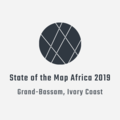 State of the Map Africa 2019 Logo Design.png