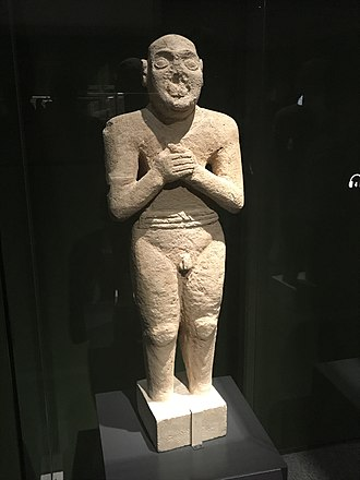 Saudi Arabia - The Worshiping Servant statue (2500 BC), above one metre in height, the statue is much taller than any possible Mesopotamian or Harappan models