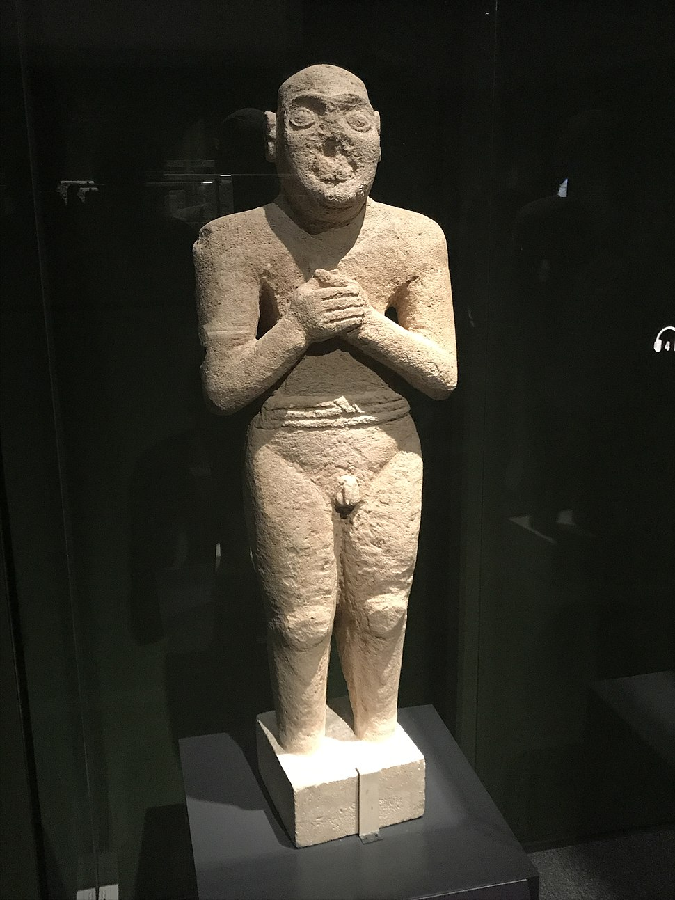 Statue at National Museum of Korea