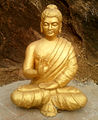 Statue of Buddha at Dammagiri in Duvvada 01.jpg