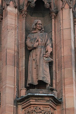 Statue of William Dunbar, Scottish National Portrait Gallery.jpg