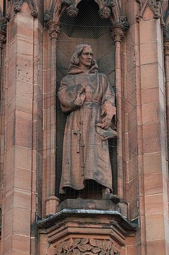 William Dunbar - Statue of William Dunbar, Scottish National Portrait Gallery