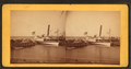 Steamboat 'Florence' at the Pier, by L. H. Clarke.png