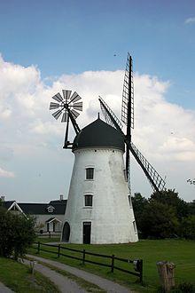 Vindmølle - Wikipedia, den frie encyklopædi
