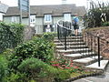 Steps up from Porlock Visitor Centre to the High Street - geograph.org.uk - 927883.jpg