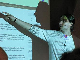 RISC OS Open - Steve Revill in 2011