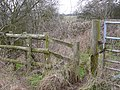 Stile on Cowley Hill - geograph.org.uk - 1157830.jpg