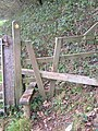 Stile on Dart valley Way above Dittisham - geograph.org.uk - 271033.jpg