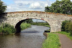 Listed buildings in Stoke, Cheshire West and Chester - Image: Stoke Bridge