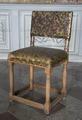 Stol med gyllenläder, 1650 cirka - Skoklosters slott - 103725.tif