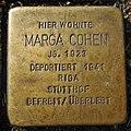 Stolperstein Ahaus Wallstraße 2 Marga Cohen.jpg