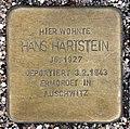 Stolperstein Bartningallee 7 (Hansa) Hans Hartstein.jpg