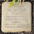 Stolperstein Berliner Str 26 (Tegel) Paul Bouillot.jpg