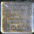 Stolperstein Köln, Josef Helmuth Weiss (Kleiner Griechenmarkt 33).jpg