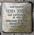 Stolperstein Metzer Str 30 (Prenz) Herta Joseph.jpg
