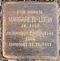 Stolperstein Schillerstr 14 (Charl) Margarete Loew.jpg