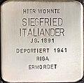 Stolperstein Siegfried Italiander1.jpg