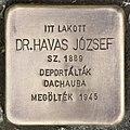 Stolperstein für Dr. Jozsef Havas (Szentes).jpg