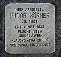 Stolperstein für Isidor Körner.JPG