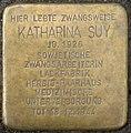 Stolpersteine Köln, Katharina Suy (Vitalisstraße 218).jpg