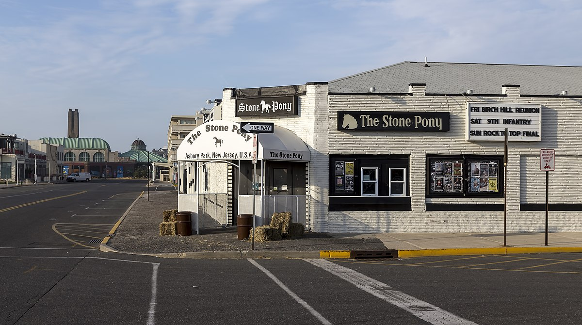 the stone pony wikipedia - Asbury Park Beer Garden