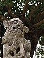 Stone lion near the Fort Zeelandia Observation Tower 20100218.jpg