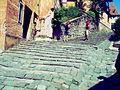 Strada pietruita, Sighisoara.jpg