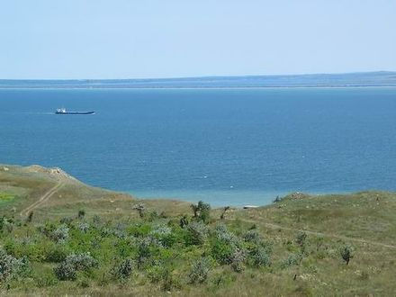 Kerch Strait. View from the Crimean coast Strait of Kerch.jpg