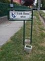 Street sign, Tóth Ilona Street, 2020 Diósd.jpg