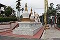 Stupas in Kharbandi Gompa, Phuentsholing.jpg