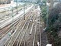Sturmtief Xynthia unterbricht den Bahnverkehr nach Stuttgart (28. Feb. 2010) - panoramio.jpg
