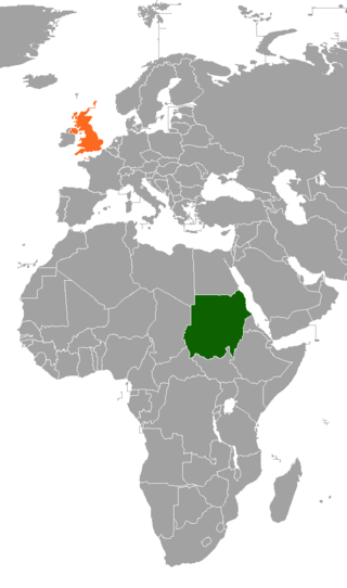 Sudan–United Kingdom relations Diplomatic relations between the Republic of the Sudan and the United Kingdom of Great Britain and Northern Ireland