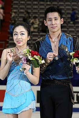 Sui Wenjing and Han Cong at Four Continents 2016.jpg