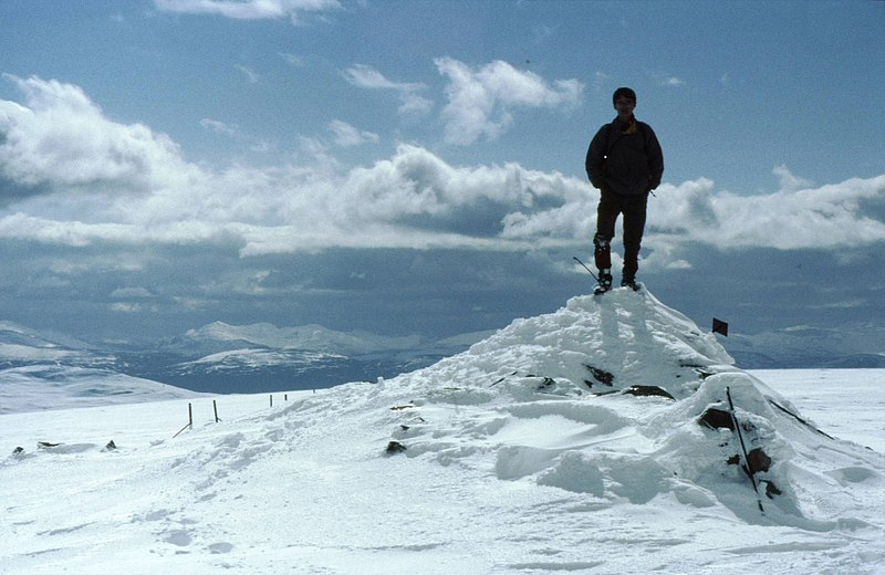 File:Summit cairn on Beinn Udlamain - geograph.org.uk - 1671391.jpg