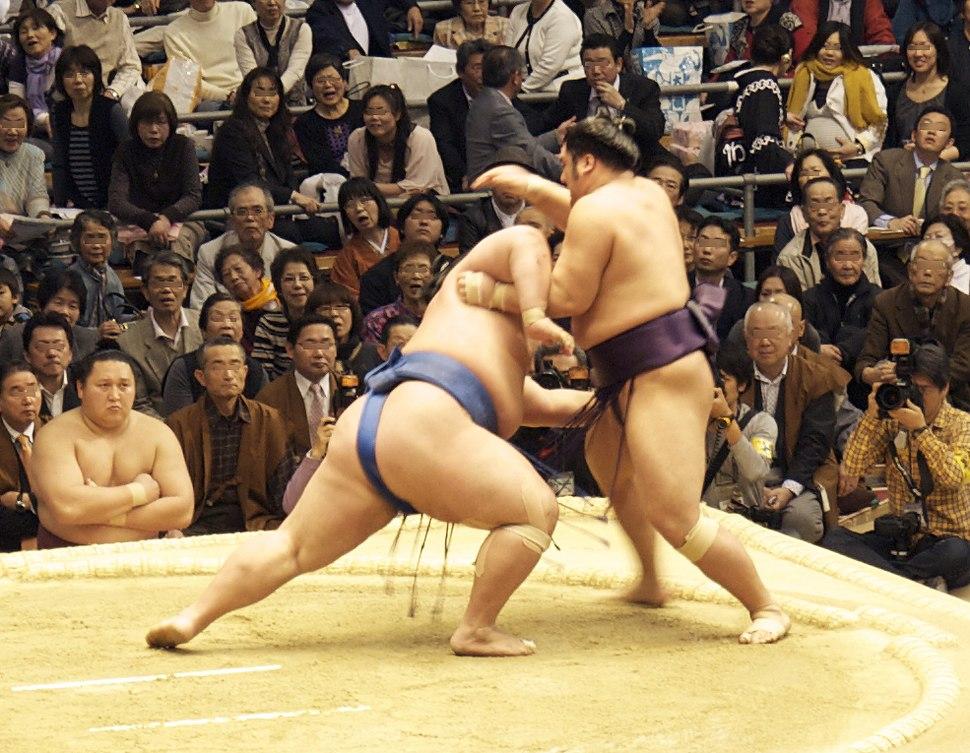 Sumo -Osaka 2010 03 23 b