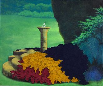 Ivor Abrahams - Sundial Summer, 1975, Tate Gallery