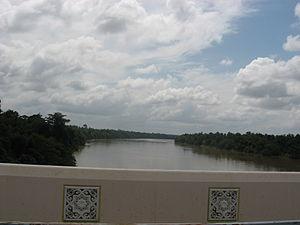 Pahang River - Image: Sungei Pahang