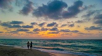 El Alamein - Image: Sunset At north coast