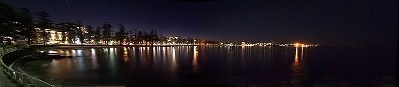 File:Sunset over Manly (5880773382).jpg