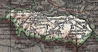 Iğdır - The Surmali uyezd in 1903