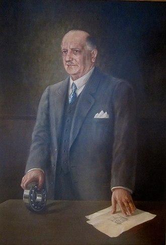 Sven Gustaf Wingqvist - Sven Wingquist - oil on canvas by Oskar Spitzmüller, Vienna