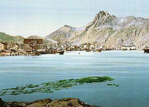 Svolvær - Svolvær around 1890