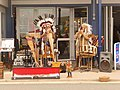 Swanage, panpipes on the prom - geograph.org.uk - 1365377.jpg