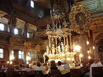 Churches of Peace - Image: Swidnica kosc pokoju 1