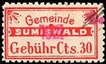 Switzerland Sumiswald 1902 revenue 30c 3.jpg